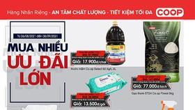Hệ thống Saigon Co.op giảm giá  hàng ngàn mặt hàng dịp lễ 2-9