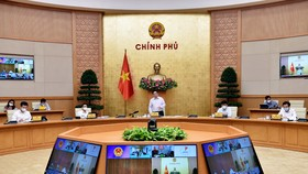 Thủ tướng Phạm Minh Chính phát biểu tại buổi làm việc. Ảnh: VGP