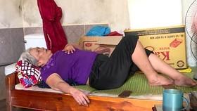 Người phụ nữ neo đơn, tật nguyền cần trợ giúp