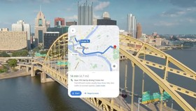 """Một tuyến đường """"xanh"""" được Google chỉ dẫn"""