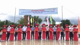 Khánh thành 15 công trình giao thông nông thôn tại vùng biên giới Long An