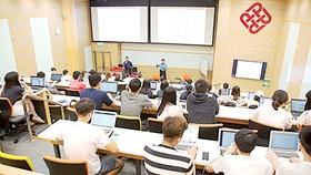 Lớp học ứng dụng công nghệ tại Trường Đại học Bách khoa Hồng Công