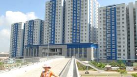 Khu chung cư mới ở Q.8, TPHCM. Ảnh: Cao Thăng
