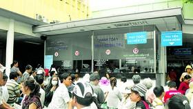 Khám bệnh tại Bệnh viện Đại Học Y Dược TPHCM.                                                                Ảnh: Thành Sơn