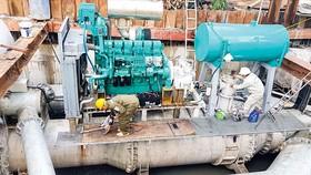 Siêu máy bơm chống ngập đường Nguyễn Hữu Cảnh: Tạm dừng vì chưa thống nhất giá thuê