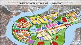 TPHCM đấu giá trước 4 lô đất ở Thủ Thiêm