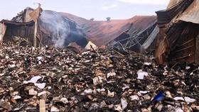 Không khởi tố vụ cháy 40 tấn hồ sơ xe buýt ở TPHCM