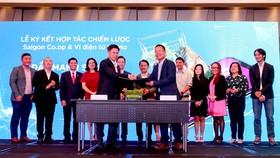 Saigon Co.op hợp tác với MoMo đẩy mạnh số hóa