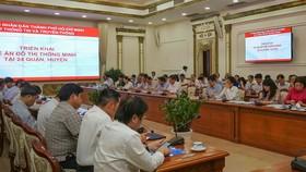 TPHCM xây dựng đô thị thông minh tại 24 quận huyện