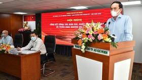 Phó Bí thư Thường trực Thành ủy TPHCM Trần Lưu Quang: Sẽ quan tâm, hỗ trợ các cơ quan báo chí