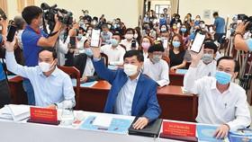 TPHCM phát động ủng hộ phòng chống dịch