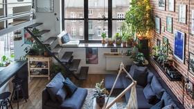 Cải tạo căn hộ cũ thành không gian sống đẹp, yên tĩnh