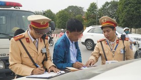 Đề xuất trừ điểm trên giấy phép lái xe