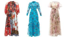 Váy hoa cao cấp mùa hè