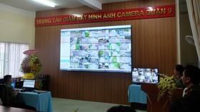 Quận 9 ra mắt Trung tâm thông tin chỉ huy, giám sát camera an ninh