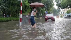 Áp thấp nhiệt đới đã lên thành bão, nhiều nơi mưa to