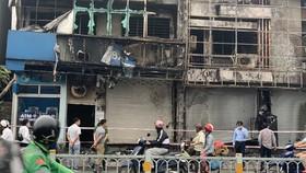 Bắt khẩn cấp kẻ gây cháy chi nhánh ngân hàng cùng nhà dân ở quận Gò Vấp