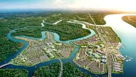 Khu đô thị Aqua City (Biên Hòa)- một trong những đô thị kiểu mẫu, quy mô lớn thu hút người dân từ TPHCM và các tỉnh lân cận