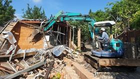 Bình Chánh đã cưỡng chế xong 6/17 công trình không phép quy mô lớn