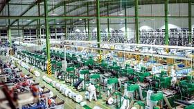 Quang cảnh nhà máy sản xuất nhựa của Tập đoàn An Phát.