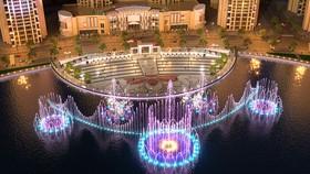 Khánh thành công viên và quảng trường Diamond