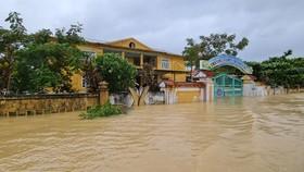 Hơn 12.000 nhà dân ở Quảng Bình ngập nặng
