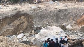 Toàn cảnh thảm họa sạt lở vùi lấp người ở Trà Leng, Trà Vân