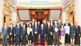 Tăng cường hợp tác giữa TPHCM và EU