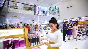 Các siêu thị mỹ phẩm AB Beauty World có quy mô từ 500-1.000m2.