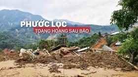 Phước Lộc toang hoang sau bão