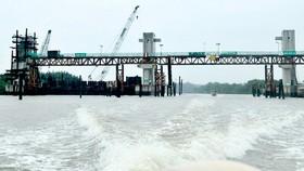 Dự án giải quyết ngập do triều cường ở TPHCM: Vận hành tạm 6 cống ngăn triều
