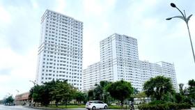 Cao ốc tái định cư Đức Khải tại quận 2, TPHCM. Ảnh: CAO THĂNG