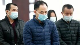 Bị cáo Lê Xuân Giang, cựu Chủ tịch HĐQT Công ty Liên Kết Việt trong phiên xét xử ngày 24-12 Ảnh: TTX