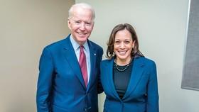 Ông Biden và bà Harris.