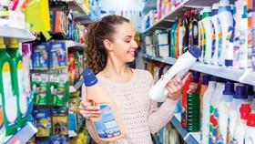 Các sản phẩm của P&G chiếm lĩnh hầu hết thị phần tại các siêu thị.