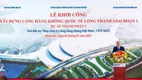 Sân bay Long Thành thể hiện khát vọng, ý chí vươn lên của đất nước