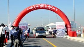 Thông xe cầu Phước Lộc, huyện Nhà Bè sau 8 năm thi công