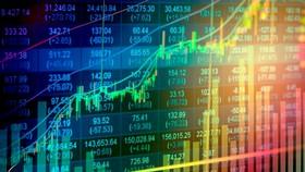 """Dòng tiền ồ ạt """"chảy"""" vào thị trường chứng khoán khiến thị trường này tăng trưởng mạnh."""