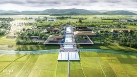 Phối cảnh Quy hoạch bảo tồn, tôn tạo và phát huy giá trị Khu lưu niệm Chủ tịch Hồ Chí Minh tại Nghệ An.