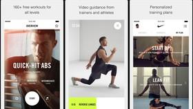 Nike cung cấp ứng dụng tập luyện thể dục tại nhà, cung cấp miễn phí cho khách hàng trên các cửa hàng ứng dụng như Apple Store và CH Play