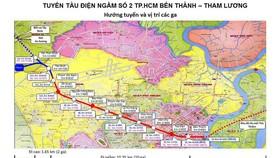 Tuyến metro số 2 Bến Thành - Tham Lương: Đã sẵn sàng khởi công