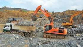 Nhiều dự án khai thác khoáng sản ở Hòa Bình sai phạm