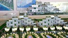 Mô hình tổ hợp nghỉ dưỡng - thể thao biển cao cấp theo tiêu chuẩn 5 sao quốc tế đầu tiên tại Bình Thuận, với quy mô hơn 90ha.