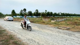 Một dự án đất nền ở xã Bình Lợi, huyện Bình Chánh