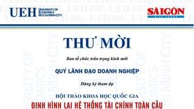 Hội thảo: Định hình lại hệ thống tài chính toàn cầu và chiến lược của Việt Nam
