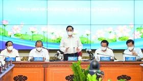 5 nhóm kiến nghị của TPHCM với Thủ tướng Chính phủ Phạm Minh Chính