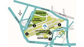 Chống ngập sân bay Tân Sơn Nhất