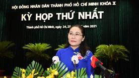 Bà Nguyễn Thị Lệ tái đắc cử Chủ tịch HĐND TPHCM khóa X