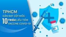 TPHCM gần đạt cột mốc 10 triệu liều tiêm vaccine Covid-19