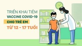 Lộ trình tiêm vaccine phòng Covid-19 cho trẻ em từ 12-17 tuổi
